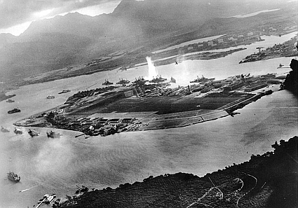Attack on Pearl Harbor.