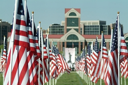 Annual 9-11 Healing Field® Flag Display and Dedication Ceremony