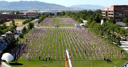 Decade of Healing Field Memorials in Sandy