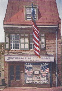 Betsy Ross House Postcard
