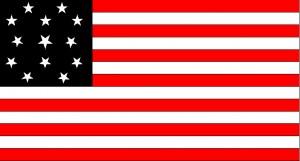 Brigham Young 13 Star Flag
