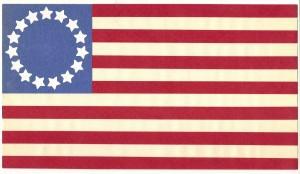 Old Fort Flag of Winter 1847