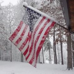 "Flying the U.S. Flag in ""Inclement"" Weather"