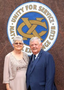 Jeff Young, a great Field of Honor® Project Chair, Inducted into the National Exchange Club's Court of Honor.